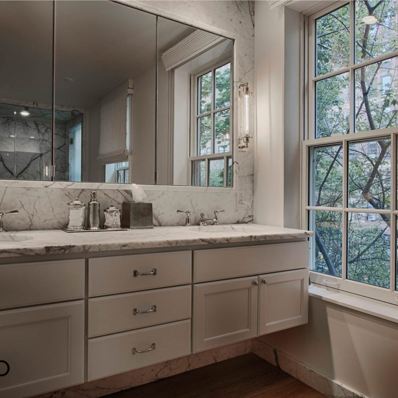 Manhattan Slab Bathroom